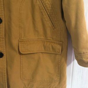 Lands' End Jackets & Coats - Lands End Barn Field Coat L Gold Corduroy Collar L